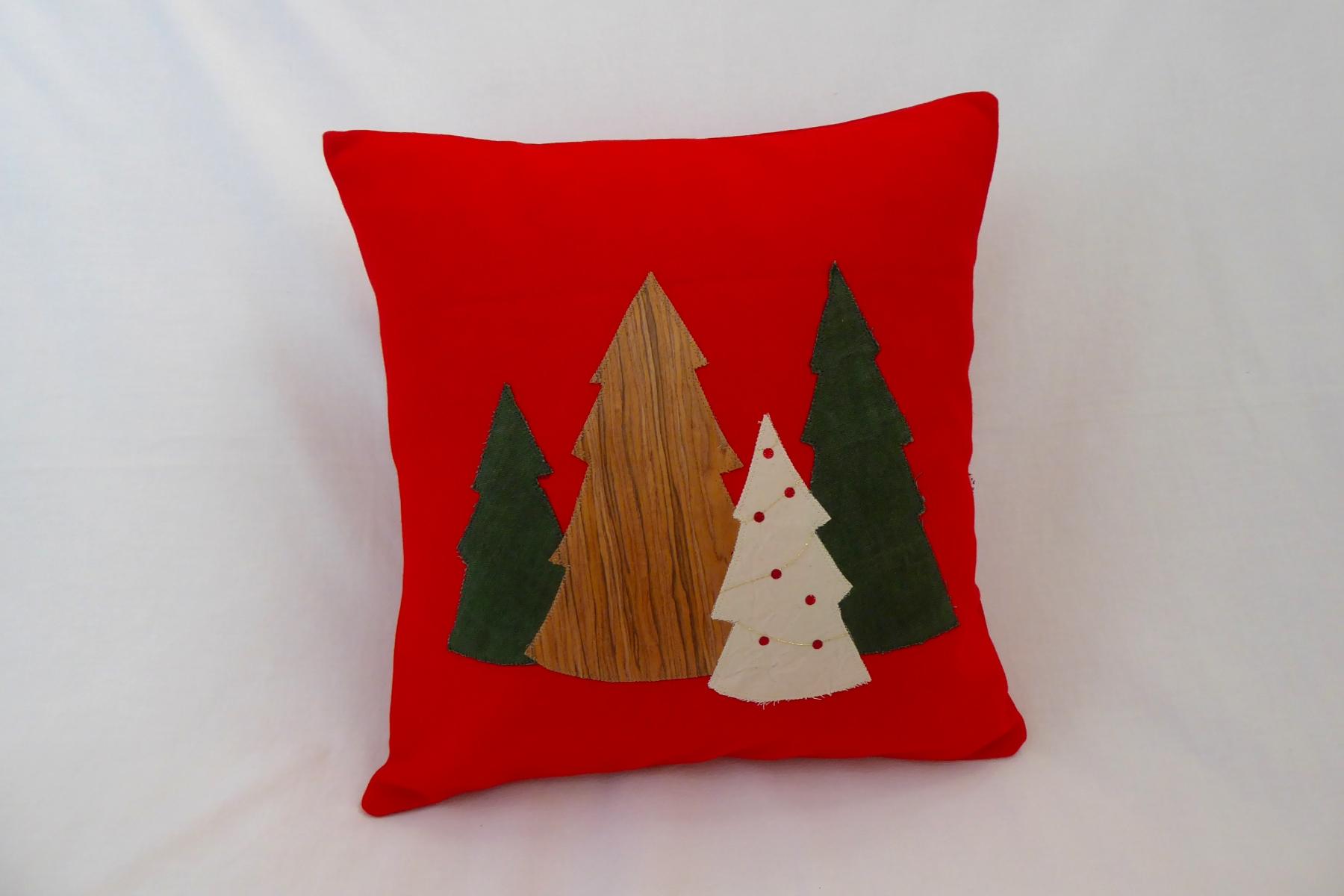 Kissen Weihnachtswald