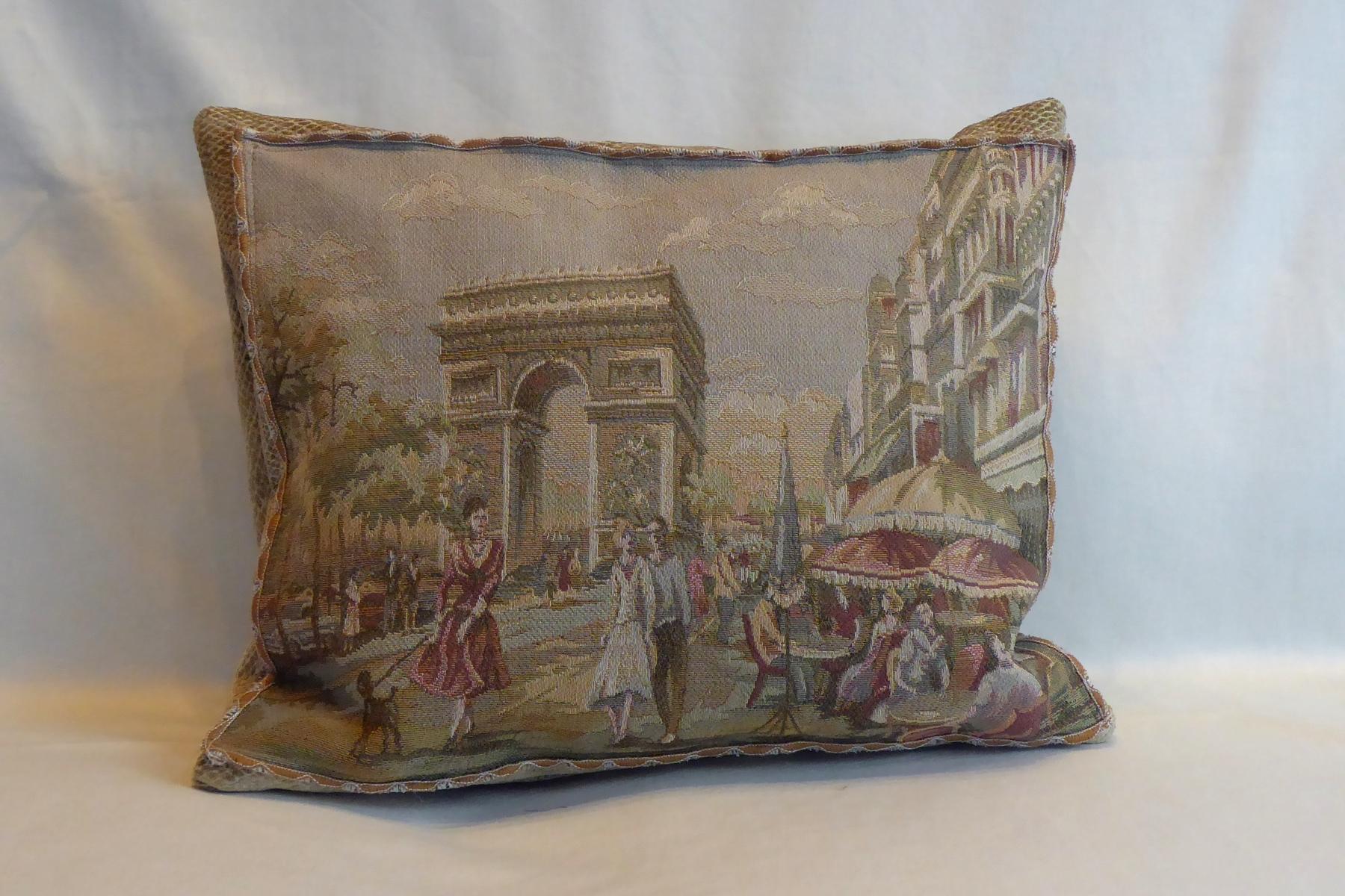 Kissen Handarbeit Gobelin Paris